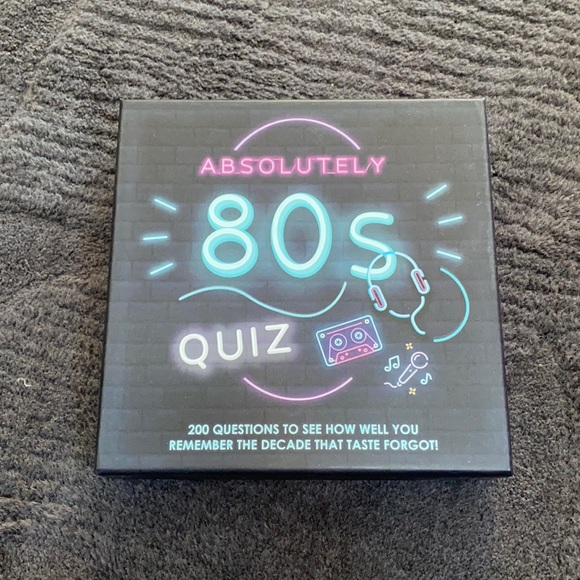 80s card game